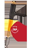 TC-21SVR Custom Grip<br/>Supercutter - TAP Straight